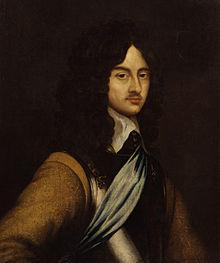Carlo II, in un ritratto giovanile di Adriaen Hanneman realizzato attorno al 1648.