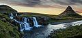 Kirkjufellsfoss Kirkjufell Snæfellsnes - panoramio.jpg