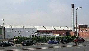 First Leeds - A First Leeds depot on Kirkstall Road.
