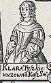 Klara Pałubinskaja (Tyškievič). Кляра Палубінская (Тышкевіч) (A. Tarasievič, 1675).jpg