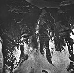 Klooch, Lookout and Crillon Glaciers, mountain glaciers and icefall, August 24, 1963 (GLACIERS 5320).jpg