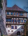 Kloster und Schloss Bebenhausen, Kapfscher Bau mit neue Infirmerie und zweigeschossigen Novizenbau (14238890302).jpg