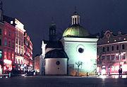 Kościół św. Wojciecha w Krakowie - noc 03