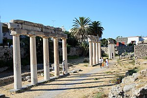 Kos - Ruins of the Ancient Gymnasion