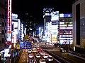 Koshu Kaido at night 20141225.jpg