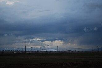 Battle of Belaćevac Mine - Power plants outside Obilić