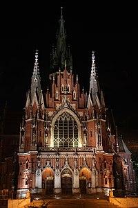 Kraków, kościół Św. Józefa, ul. Zamojskiego 2, A-595 i A-229M.jpg