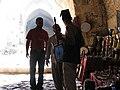 Krak des Chevaliers, Syria, Inner halls, Vendors.jpg