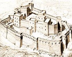שחזור של המבצר