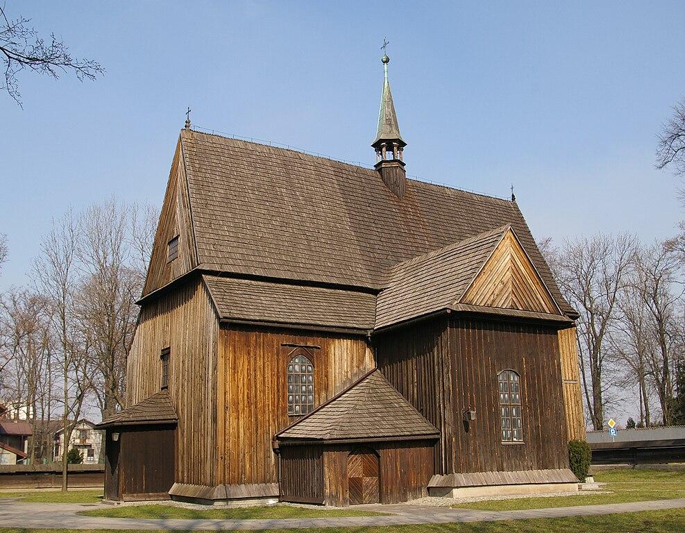 Eglise de Saint Barthélémy (Sw Bartlomieja en polonais) à Cracovie. Photo de Jakub Hałun.