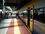 Krakow airport train station.jpg