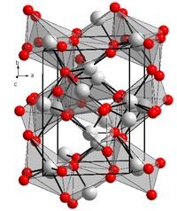 Kristallstruktur von KBismut(III)-oxid