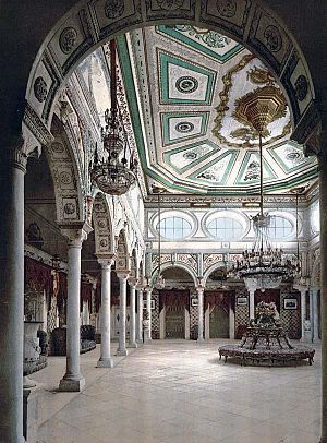 Muhammad III as-Sadiq - Private chambers of Muhammad III as-Sadiq in Ksar Said