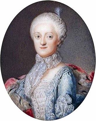 Maria Kunigunde of Saxony - Princess Maria Kunigunde of Saxony