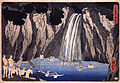 Kuniyoshi Utagawa, Pilgrims in the waterfall.jpg