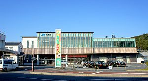 Kurayoshi Station - The station in March 2011, after rebuilding