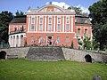 Kurozwęki, zamek, nast. pałac, 2 poł. XIV, XV, XVII, 2 poł. XVIII w.JPG