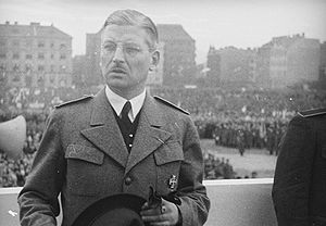 German Question - Austrian Chancellor from 1934 to 1938, Kurt Schuschnigg strongly opposed Hitler's annexation of Austria to the Third Reich.