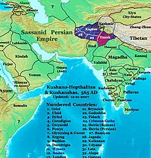 Taank empire in 565 AD