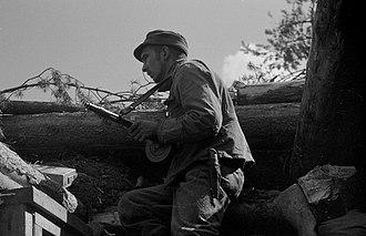 Battle of Nietjärvi - Image: Kuulovartio
