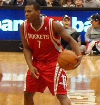 Kyle Lowry - Lowry playing for the Houston Rockets in November 2009
