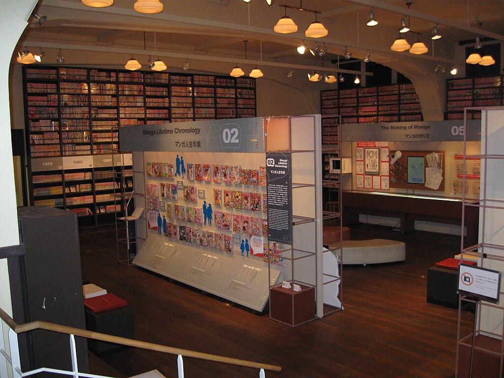 Kyoto International Manga Museum - Main Exhibit