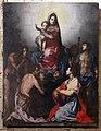 L'empoli o francesco curradi, copia della pala di gambassi da andrea del sarto, 1580-82, 01.jpg