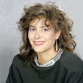 Léonie Sazias, 1987, foto van beeldengeluidwiki.nl
