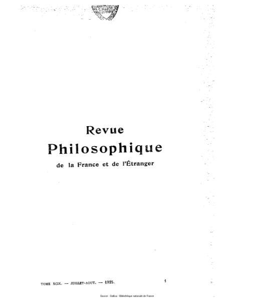 File:Lévy-Bruhl - Revue philosophique de la France et de l'étranger, 100.djvu