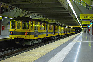 Orenstein & Koppel - Siemens-Schuckert Orenstein & Koppel underground trains built for the Buenos Aires Underground from 1934-1944.