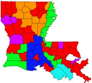 Louisiana gubernatorial election, 2003 - Image: LA Gov Election Oct 03