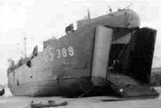 USS LST-389 - LST-389
