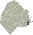 La Boca-Buenos Aires map.png