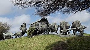 Parque Batlle - Monumento La Carreta