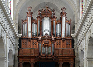 Joseph Merklin - The grand organ of La Rochelle Cathedral, built by Merklin in 1866