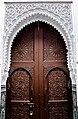 La porte de la l'ancienne école coranique au centre de la médina d'oujda.jpg