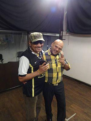Labh Janjua - Labh Janjua (left) with Bollywood Famous Line Producer Deepak Bhanushali (right)