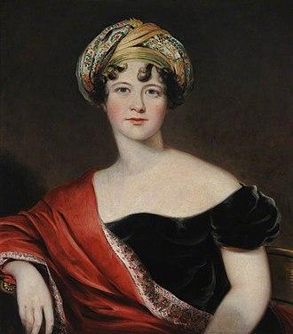 Harriet Leveson-Gower, Countess Granville - Lady Harriet, c. 1809/1810