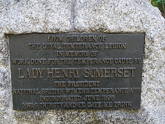 Lady Henry Somerset - Image: Lady Henry Somerset Memorial Fountain, September 2016 03