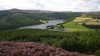 Ladybower Reservoir - Image: Ladybower Reservoir