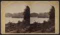 Lake George - Rogers Rock Hotel, from the north, by Stoddard, Seneca Ray, 1844-1917 , 1844-1917.png