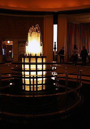 The Carlu - Lalique fountain