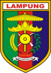 Official seal of Lampung