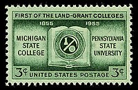 Image:Land grant college stamp.jpg