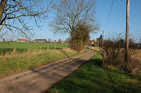 Lane to the small hamlet of Aulden - geograph.org.uk - 329619.jpg