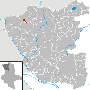 Location of Langenapel in Altmarkkreis Salzwedel district prior to its merger into Salzwedel