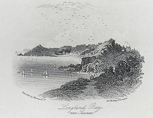 Langland bay, near Swansea
