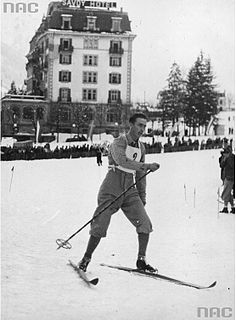 Lars Bergendahl Norwegian cross country skier