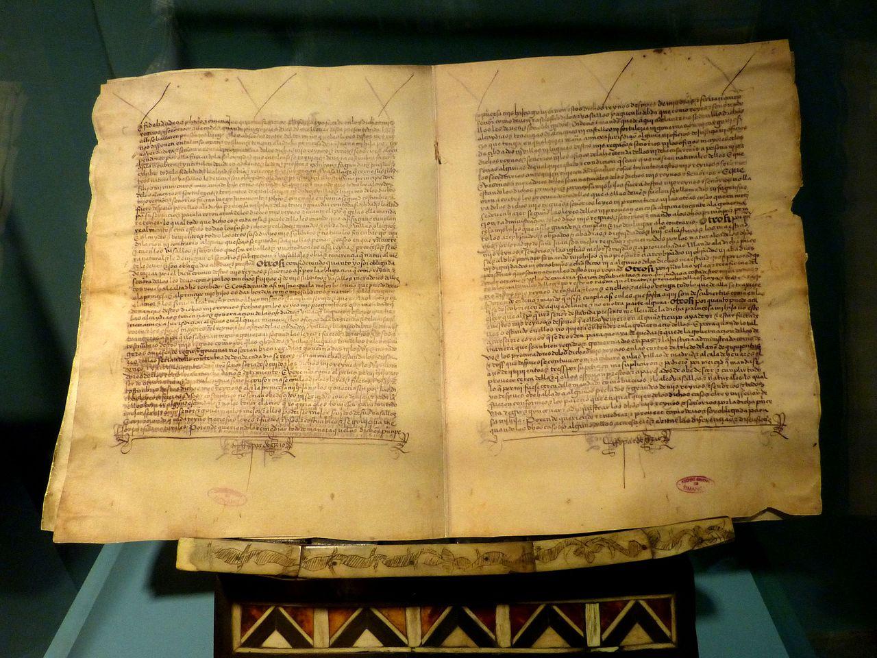 Las Palmas Casa de Colon - Museum Isabella Testament.jpg
