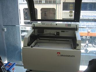 Laser engraving - A laser engraving machine